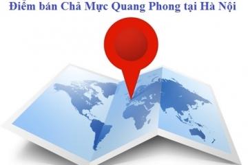 Điểm Bán Chả Mực Quang Phong Tại Hà Nội